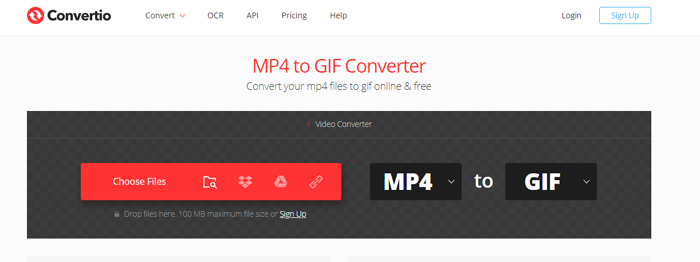 convertio mp4 to gif